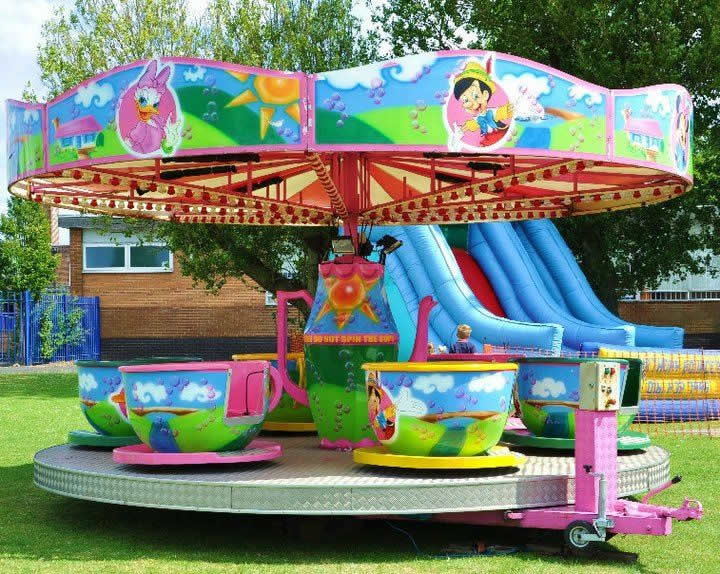 Cup and Saucer Fairground Ride