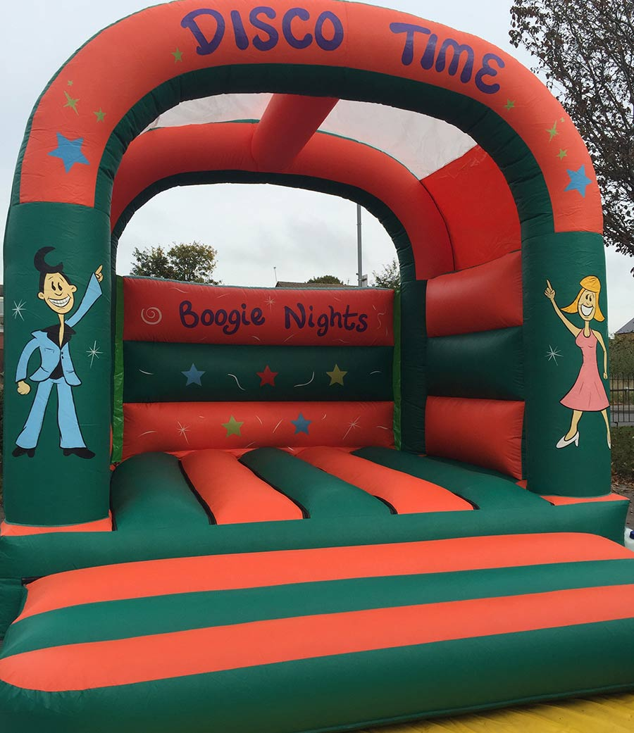 Boogie Nights Disco Time Bouncy Castle Hire