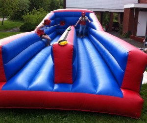 Bungee Run Hire 12x20ft For Adults and Children