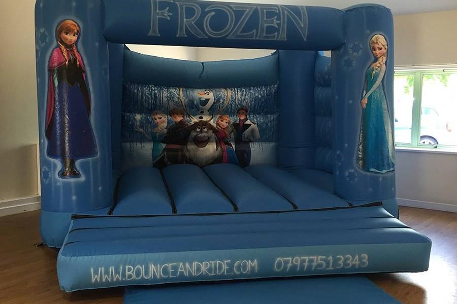 Frozen Bouncy Castle Hire Redditch