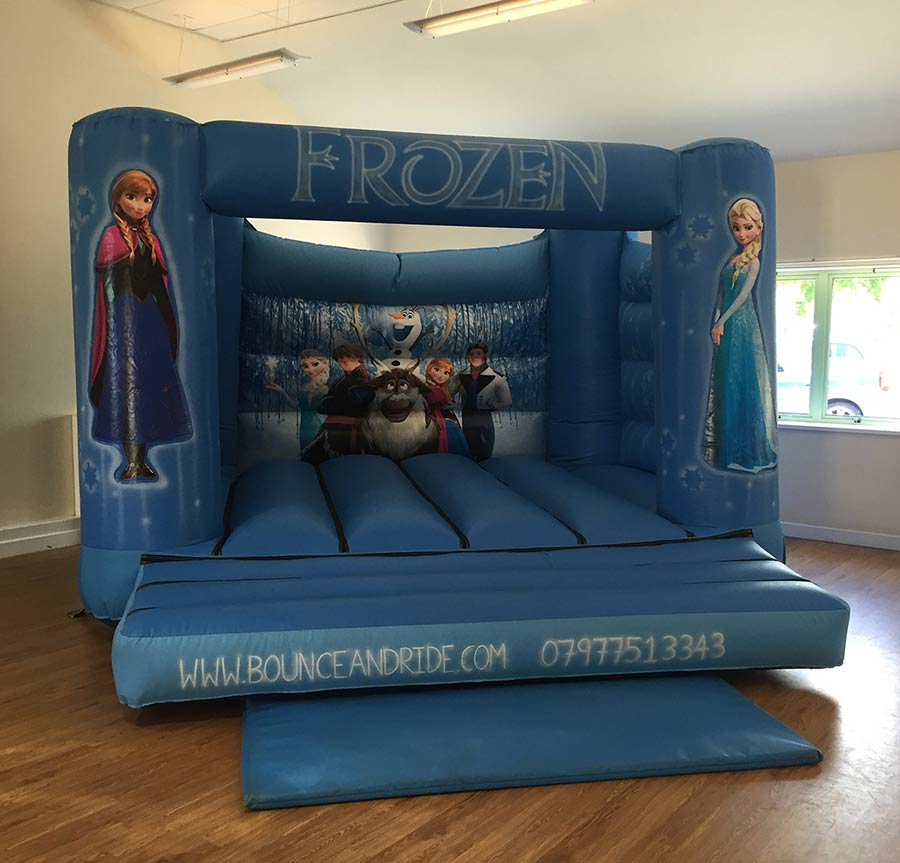 Frozen Bouncy Castle Hire Redditch