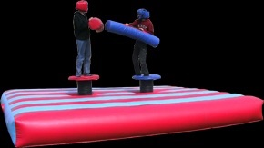 Inflatable jousting hire