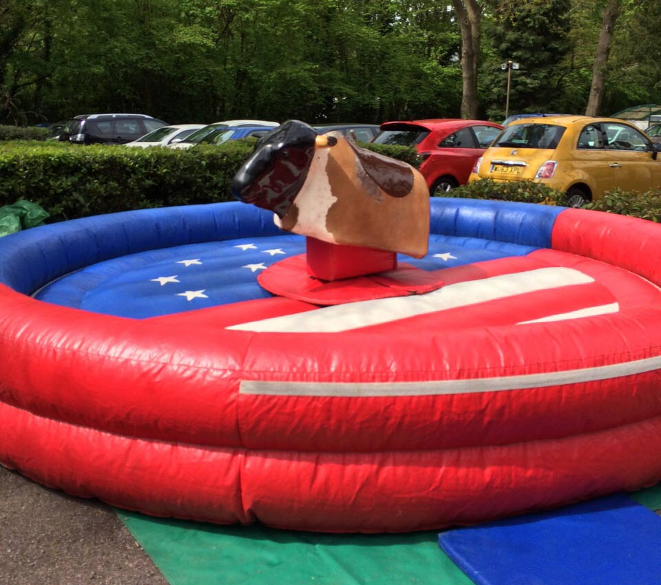Inflatable Rodeo Bull Redditch