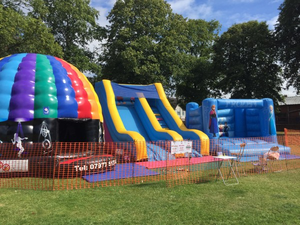 Disco Dome Bouncy Castle Redditch