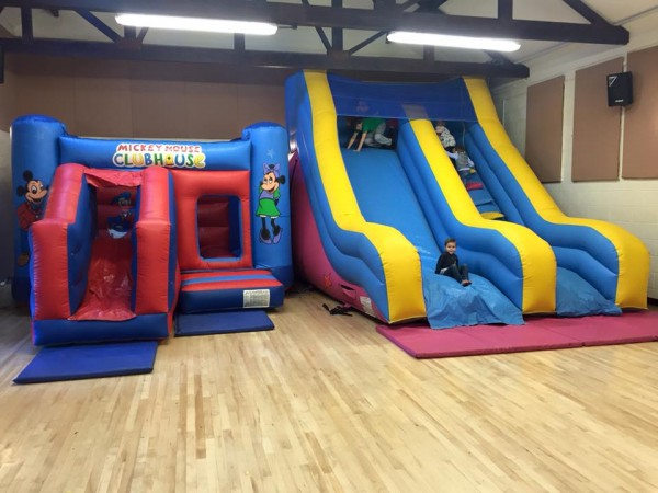 Indoor Bouncy Castle Hire