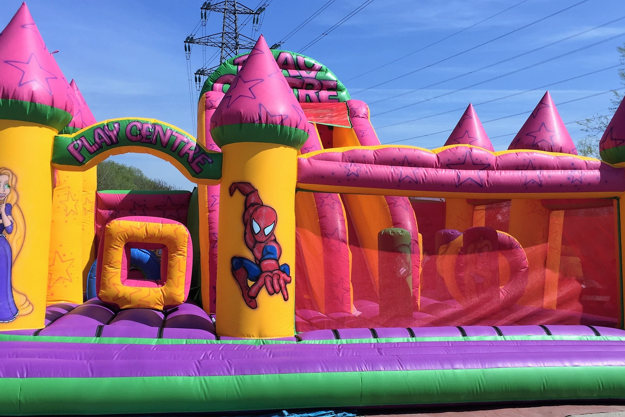 30m2 Inflatable Play Centre