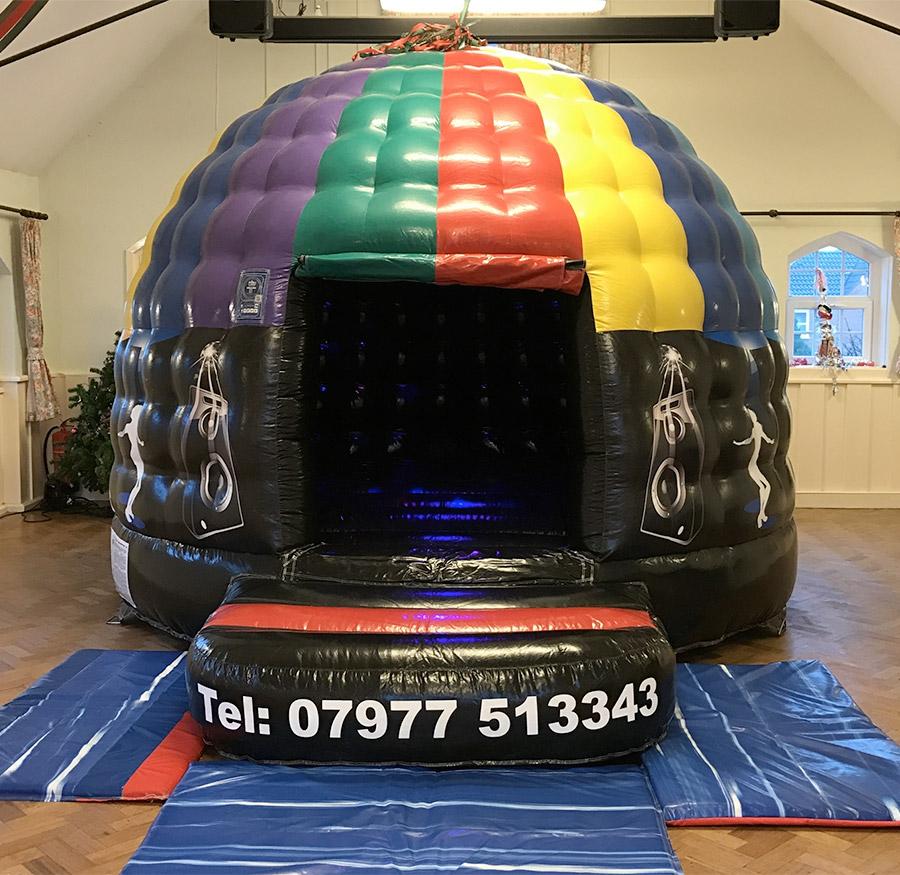 Mini Disco Dome Hire
