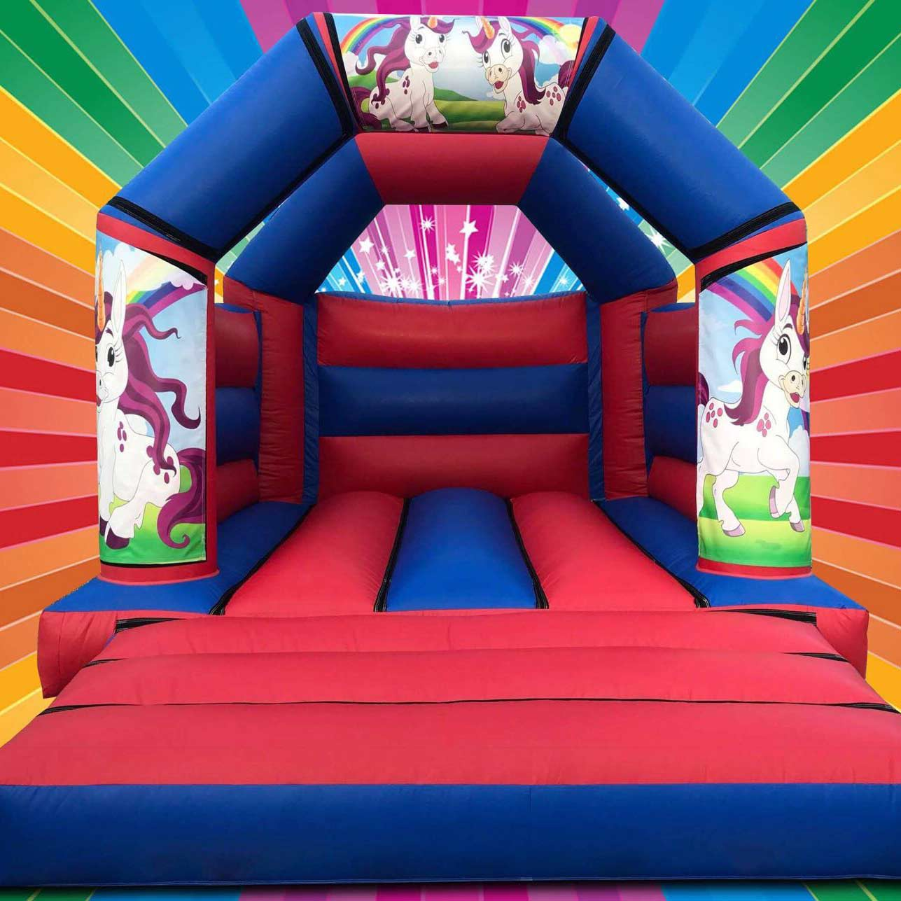 Bouncy Castles Hire Redditch From Bounce And Ride